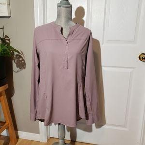 COLUMBIA omni shade pullover shirt